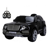Машина на аккумулят.BENTLEY JJ2158 Р/У черный до 30кг 125*73*58см